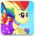 奔跑吧,彩虹小马