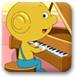 黃金小豆學鋼琴