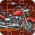 卡通摩托车拼图