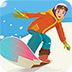 冬季運動拼圖