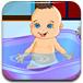 为宝贝洗澡换装
