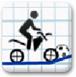 火柴人骑脚踏车