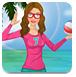 芭比娃娃沙滩排球