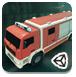 消防车停靠灭火