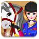 女孩和她的小马