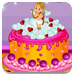 美味的情人节蛋糕
