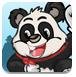 熊猫采蜂蜜