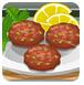 香葱蟹肉饼