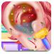 可爱宝宝的耳朵护理
