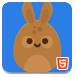 小兔子收集星星