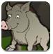森林救援野猪