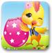 可爱小鸡画彩蛋