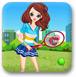 網球小美女