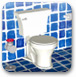 逃離藍色浴室