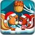 小松鼠圣诞觅食