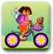 朵拉搭桥自行车