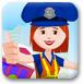 女交警交通维护