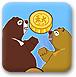 熊大熊二吃月饼