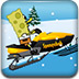 海绵宝宝雪橇车