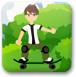 少年駭客玩滑板