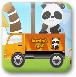 动物玩偶运输卡车
