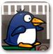蓝企鹅跳水