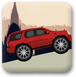 紅色大吉普車