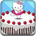 制作凱蒂貓蛋糕