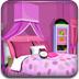 可爱粉红色卧室