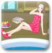 美女温泉浴