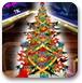 闪光圣诞树