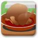 烹饪香浓酱汁鸡肉