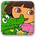 朵拉照顧小鱷魚