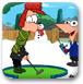 飞哥与小佛奇趣高尔夫冬季版