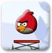 新版愤怒的小鸟弹跳球