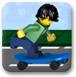 乐高玩滑板